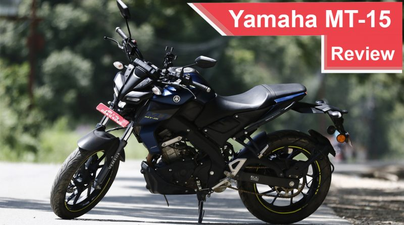 2019 Yamaha MT-15 Review